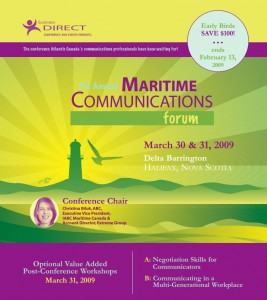 MaritimesCommunicationsForum2009